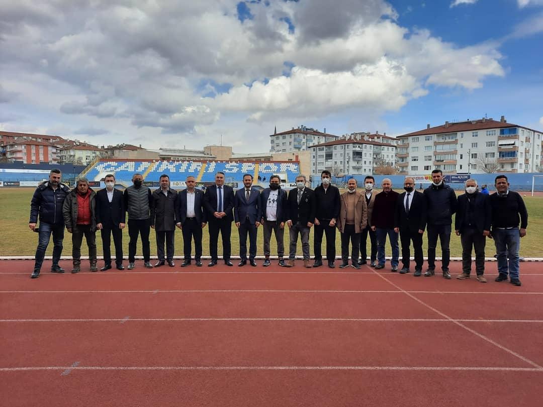 İstanbul Çandef Başkanı Zeynettin Aydın ve Yönetim Kurulundan Ziyaret